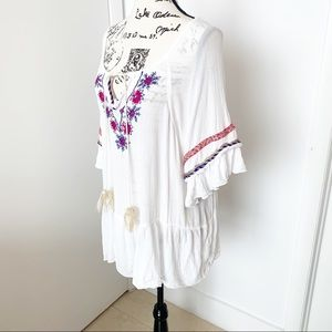 India Boutique Swim - Boho Blouse/Tunic/Cover Up